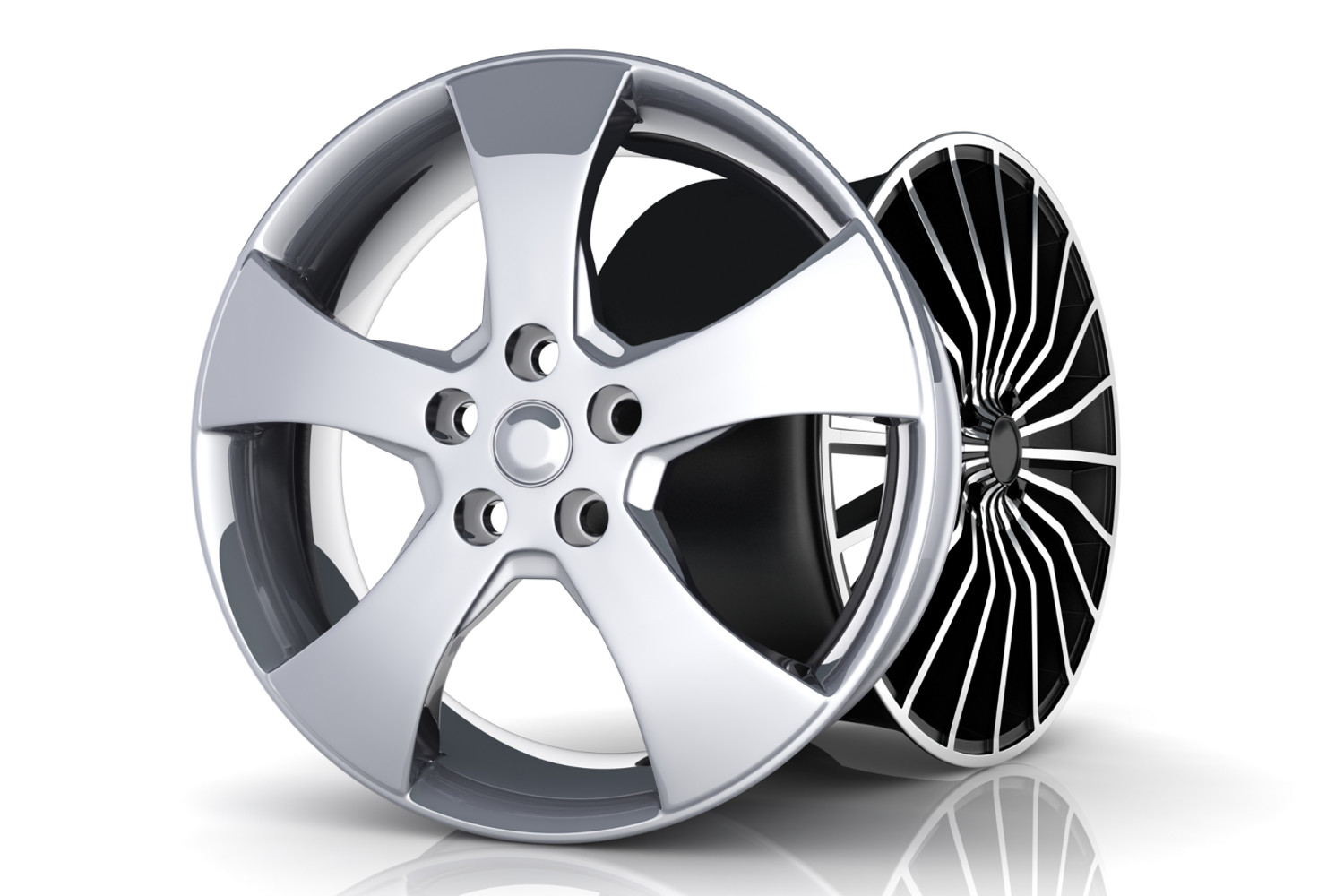 Custom Wheel Painting and Polishing in Calgary, Edmonton and around Alberta